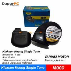 Rp 46.000. Klakson Keong Single Tone - 12 Volt Untuk Motor MOCC SatuanIDR46000