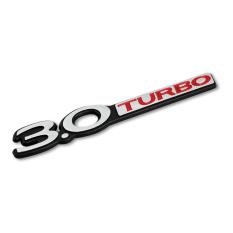 Situs Review Klikoto Emblem Mobil Variasi Tulisan 3 Turbo