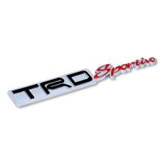 Tips Beli Klikoto Emblem Mobil Variasi Tulisan Trd Sportivo Embose Chrome Yang Bagus