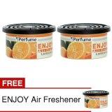 Spesifikasi Klikoto Parfum Mobil Enjoy Air Orange 2 Pcs Gratis 1 X Perfume Enjoy Orange Terbaru