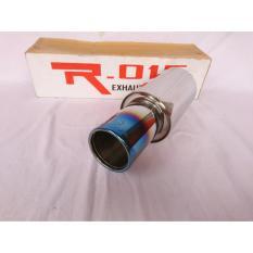 Knalot Racing Mobil Remus Blue Series High Quality Muffler Full Stainles Berkualitas