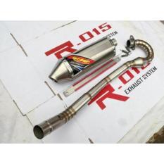 Knalpot FMF Factory 4.1 Full Stainless & Las Cacing Tinggal Pasang Buat New klx- KLX150- DTracker