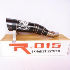 Knalpot R9 H2 Black Series Slip On Ninja 250 - R25 - MT25 - Z250 - RR Mono - CBR 150 / 250 - CB 150