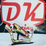 Jual Knalpot Racing Yamaha N Max Akrapovic Garda Rainbow Fullstainless Multi Murah
