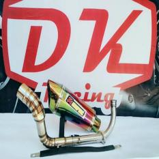 Harga Knalpot Racing Yamaha N Max Akrapovic Garda Rainbow Fullstainless New