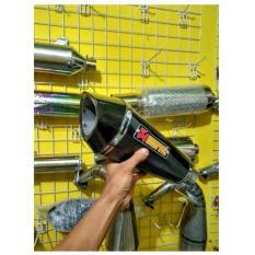 Jual Knalpot Recing Slencer Only Akrapovic For 150 250Cc Jawa Tengah