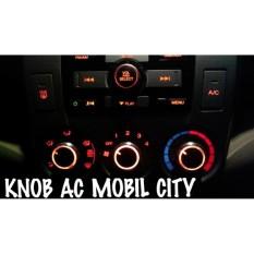 KNOB AC ELEGANT BUNDAR HONDA CITY TAHUN 2008 S/D 2014 - Aksesoris INTERIOR MOBIL HONDA CITY