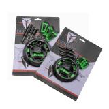 Harga Kodaskin Engine Stator Cover Frame Slider Pelindung Pour For Z1000 Z1000Sx Satu Pair Green Intl Branded