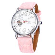 Koklopo Shenhua SHENHUA Baru FASHION LADY Rose Diamond Watches AliExpress Menjual Grosir (SilverWhite)