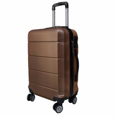 Koper Polo Expley Hardcase Luggage 20 Inchi 802-20 Coffee Waterproof