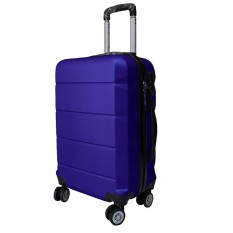 Koper Polo Expley Hardcase Luggage 20 Inchi 802-20 Dark Blue Waterproof