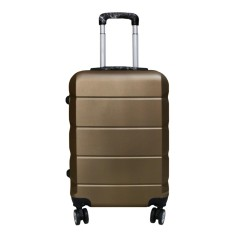 Koper Polo Expley Hardcase Luggage 20 Inchi 802-20 Waterproof Coffee
