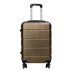 Koper Polo Expley Hardcase Luggage 24 Inchi 802-24 Anti Theft Original - Coffee