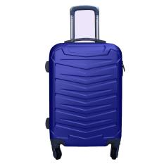 Koper Polo Expley High Quality Hardcase Luggage 20 Inchi 6601-20 Transformer Design Waterproof Blue