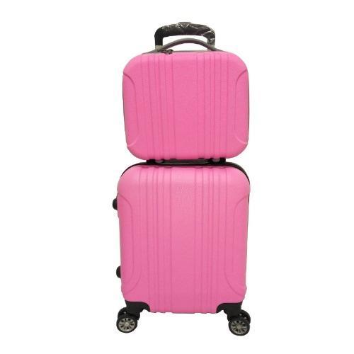 Koper Polo Maple ABS Vertical Stripe Six - B11 - pink 12\