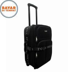 Koper Polo Milano Size 24 Inchi Koper Bahan Koper Murah 210-24 Expandable Import Original - Black