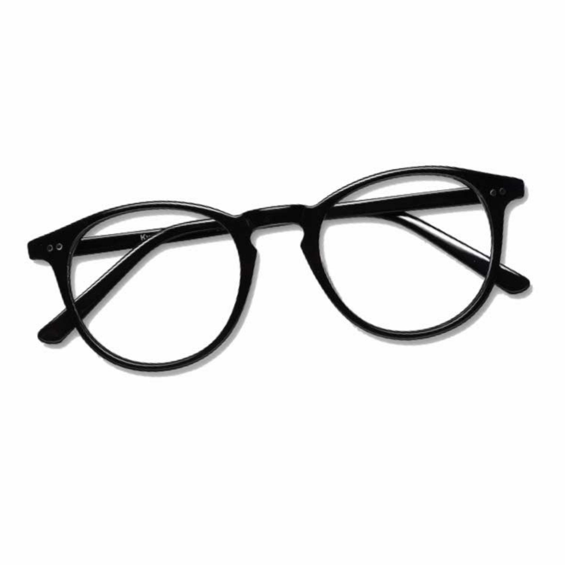 Korea Fashion Style - Kacamata Oval - Fashion - Pria dan Wanita - Unisex -  Clasic b9cb925c5d