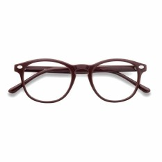 Korea Fashion Style - Kacamata Oval - Fashion - Pria dan Wanita - Unisex - Clasic Round Glasses ( MLD )