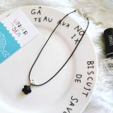 Spesifikasi Korea Fashion Style Kristal Bunga Liontin Yg Baik