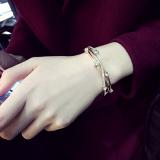 Korea Fashion Style Siswa Gelang Kristal Gelang Murah