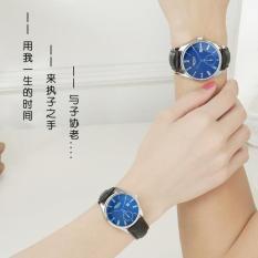 Korea Fashion Style tahan air Shishang model perempuan jam tangan jam tangan Couple