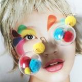 Spesifikasi Anting Korea Fashion Style Transparan Model Sama Gadis Anting Jepit Tanpa Tindik Merk Oem