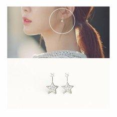 Jual Drama Korea Dokebi Goblin Sunny Kim Star Cubic Earring Intl Oem Murah