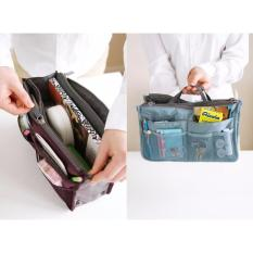 Korean Dual Bag In Bag Organizer / Tas Organizer Korea Multifungsi