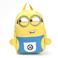 Ulasan Lengkap Tentang Korean Fashion 2 8 Years Old Children Cute Lovely Cartoon Backpacks Bag Color Blue Intl