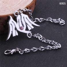 Korea KPOP EXO 12 Anggota LUHAN KRIS TAO Menawan Gelang Pria Wanita Fashion Perhiasan Hadiah Souvenir-Intl