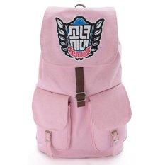 KPOP Aksesoris Baru Girls Generasi Backpack Schoolbag (Pink)-Intl