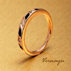Kristal Berlian Unik Menikah Cincin Kelingking Pria Dan Wanita Modis Cincin
