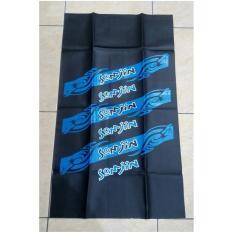 Kulit Cover Sarung Jok Motor SOMJIN Tribal - BIRU