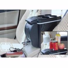 KULKAS 6L Lemari Es Pendingin Portable Mobil Cars Aksesoris Interior