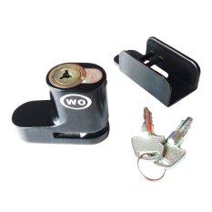 Diskon Kunci Cakram Pengaman Motor Kunci Cakram Disc Brake Lock Model Wo Gembok Cakram Wo Hitam Branded