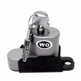 Jual Kunci Cakram Pengaman Motor Merk Wo Kunci Cakram Disc Brake Lock Model Wo Gembok Cakram Wo Silver Antik