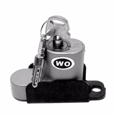 Harga Kunci Cakram Pengaman Motor Merk Wo Kunci Cakram Disc Brake Lock Model Wo Gembok Cakram Wo Silver Murah