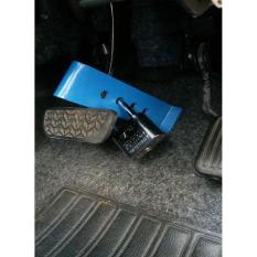Kunci kopling. Kunci rem + Gembok Besar 60mm Pengaman mobil anti maling. Universal bisa pasang untuk semua mobil. Matic dan Manual. Paling Ampuh !!!