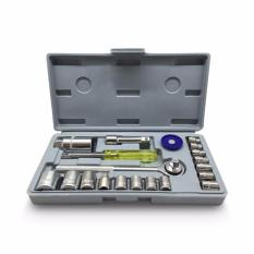 Obral Kunci Sok Set 21 Pcs Alat Bengkel Motor Serbaguna Murah
