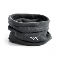 Spesifikasi Kupluk Polar Fleece Multifungsi Neck Mask Thermal Coklat Yg Baik