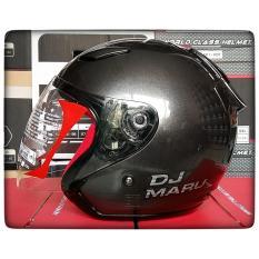 Jual Kyt Dj Maru Solid Helm Half Face Gun Metal Kyt Branded