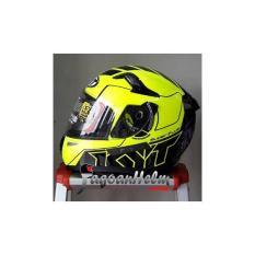 Jual Beli Kyt Helm K2 Rider Fluo Super Fluo 1 Fullface Ringan Baru Indonesia