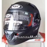 Toko Kyt Helm K2 Rider Solid Black Doff Termurah