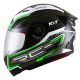 Kyt Rc 7 14 Black White Green Indonesia Diskon