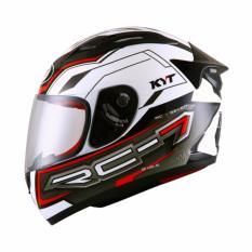 Berapa Harga Kyt Rc Seven 14 Helm Full Face White Black Red Di Indonesia