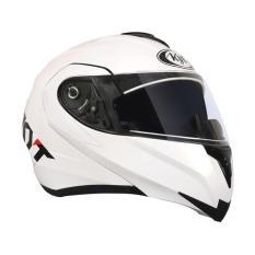 KYT RRX Helm Modular - Putih Metalik