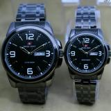 Jual L S Swiss Army Couple Stainless Steel Terbaru Elegant Branded Original