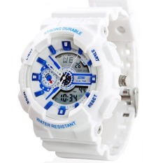 Jual Lady S Led Outdoor Olahraga Watch Elektronik Dengan Tahan Air Jelly Jam Tangan Putih Intl Satu Set