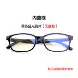 Beli Kacamata Pelindung Mata Anti Sinar Biru Anti Radiasi Retro Versi Korea Online Murah