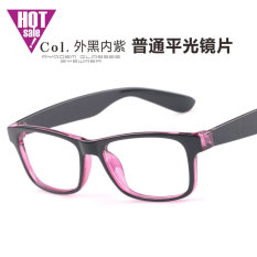 Anti blu-ray Radiasi Komputer kacamata pria pasang HP kacamata tidak berderajat tanpa derajat permukaan rata rabun dekat 眼睛框 Bingkai Kacamata perempuan